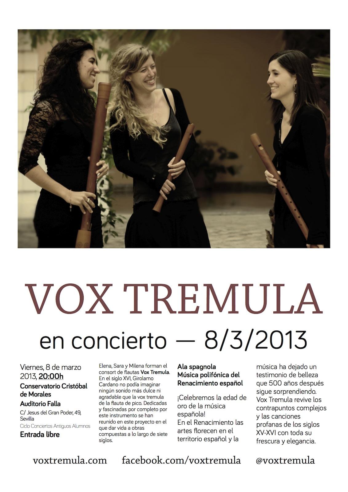 Vox Tremula en concierto